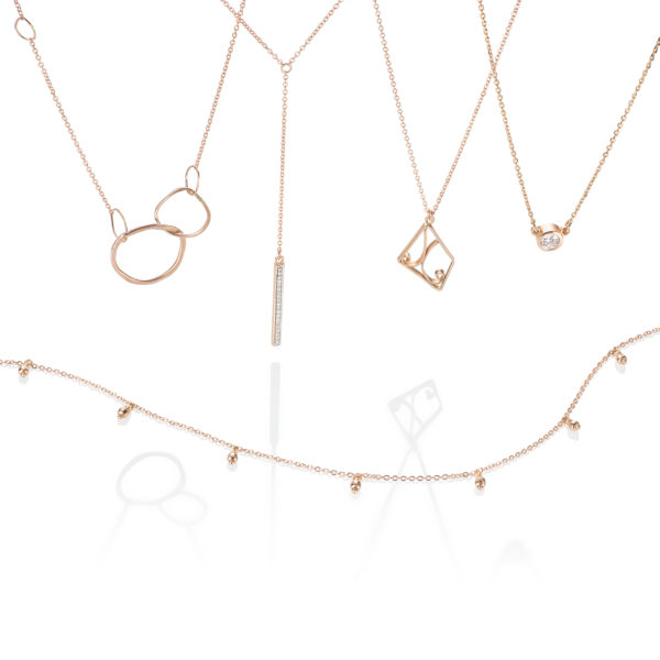 b3a4297f270e0 Rose Gold Stackable Necklaces – Kari Latta